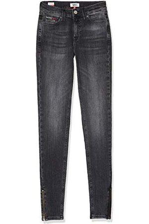 Tommy Hilfiger Nora Mid Rise Skny Ank Zip Jrvbk Straight Jeans voor dames
