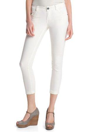 Esprit Dames7/8 broek 023CC1B025 Skinny/Slim Fit (groen) normale tailleband