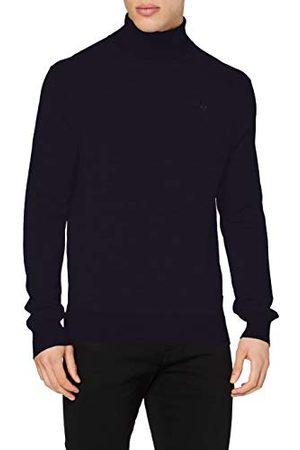 Armani Heren T-shirt met opstaande kraag. - - Small