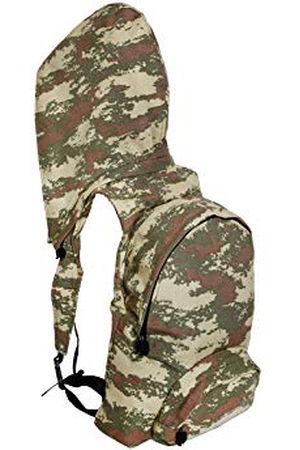 Morikukko Unisex-Adult Rugzak met capuchon Militaire Camo Rugzak Multi kleuren (Militaire Camo)