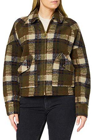 Scotch&Soda Wol Check Jacket Short voor dames