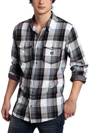 DC Heren overhemd - Wit - S