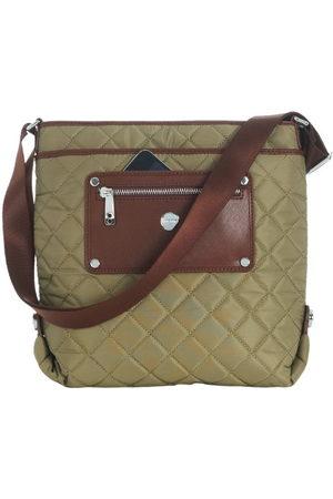 Knomo 24-401 handtas voor iPad en MacBook Air 11 inch Khaki Cognac