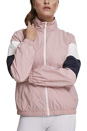 Urban classics Dames licht trainingsjack Ladies Crinkle Track Jacket