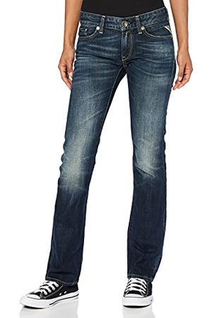 Replay Dames Straight Fit Jeans Nadie WX670