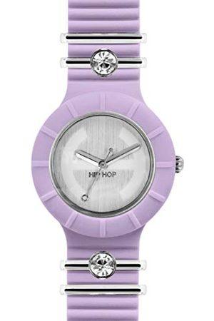 Hip Dames analoog kwarts horloge met siliconen armband HWU0550