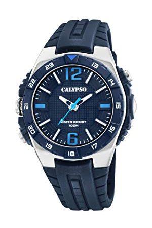 Calypso K5778/3 Analoog kwartshorloge voor heren, met plastic armband