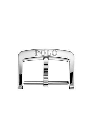 Polo Ralph Lauren Heren Horloges - 18 mm Steel Folding Buckle