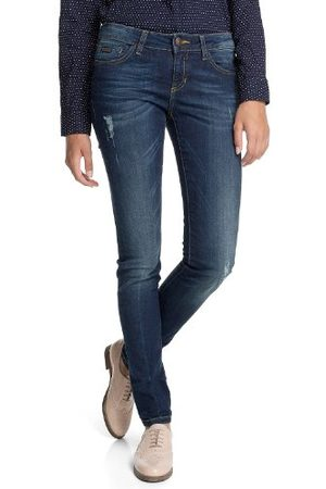 Esprit Dames jeans 083CC1B025 Skin Skinny Slim Fit (rouw) normale band
