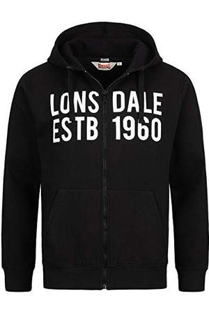 Lonsdale London Sweatshirt met capuchon voor heren