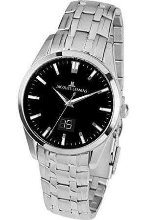 Jacques Lemans Dames analoog kwarts horloge met roestvrij stalen armband 1-1828D