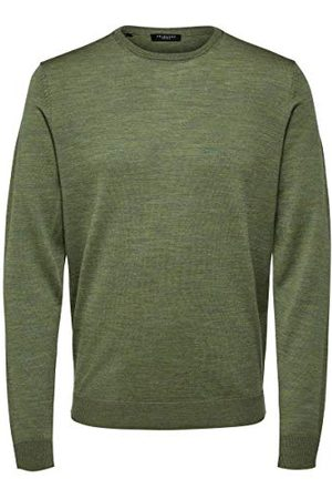 SELECTED Heren Slhrocky Crew Neck B Noos Pullover