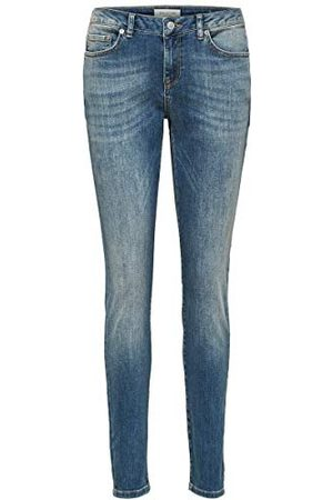 SELECTED Slfida Mw Skinny Mid Blue Noos W jeans voor dames