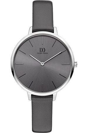 Danish Design Dames analoog kwarts horloge met lederen armband IV14Q1180