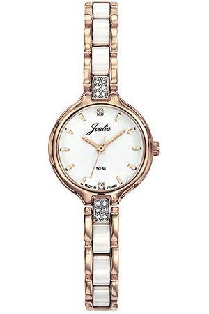 Joalia Dames analoog kwarts horloge met roestvrij stalen armband 630600
