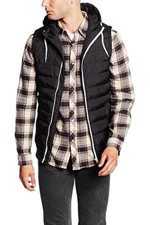Urban classics Heren Small Bubble Hooded Vest Vest
