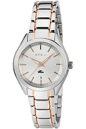 Breil Ladys' Manta City Watch Collection Mono-Colour White dial 3 Hands Quartz Movement and Steel/IP Bracelet TW1618