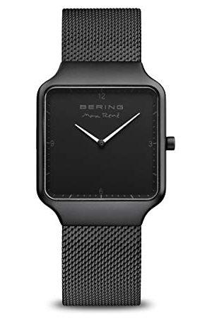 Bering Dames analoog kwarts horloge met roestvrij stalen armband 15832-123