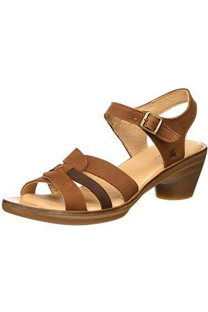 El Naturalista N5364, open sandalen met sleehak dames 37 EU