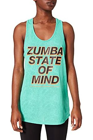 Zumba Fitness Dames Burnout Dance Gym Tank Graphic Print Fitness Workout Tops