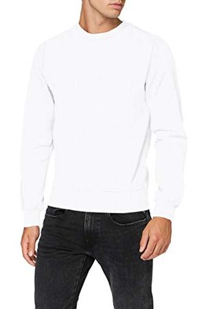 Build Your Brand Heren sweatshirt Premium Crewneck pullover, mannen sweater verkrijgbaar in 3 kleuren, maten S - XXL