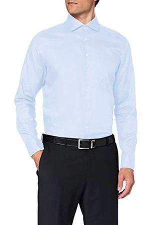 Seidensticker Zakelijk overhemd voor heren, gemakkelijk te strijken, getailleerd overhemd, shaped fit, lange mouwen, kent-kraag, borstzak, 100% katoen