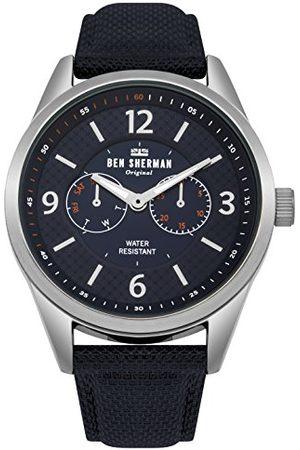 Ben Sherman Heren multi-wijzerplaat kwarts horloge met nylon armband WB069UU