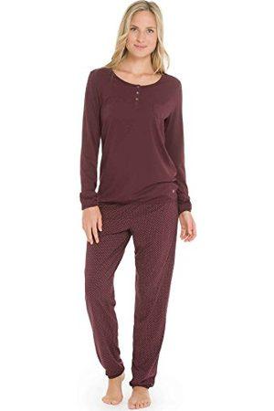 Marc O'Polo Body & Beach Dames Body's - Marc O'Polo Body & Beach dames tweedelige pyjama PYJAMA LS HENLEY