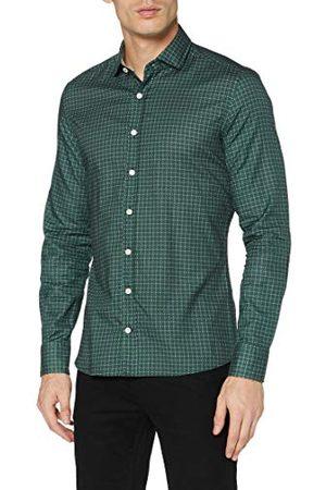 Hackett Heren spreuk floral print shirt