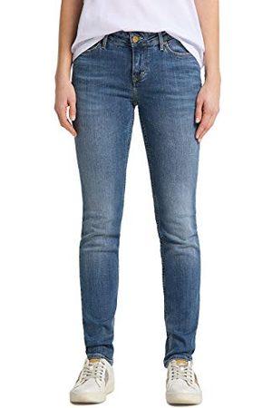 Mustang Dames slim jeans jasmin, Blue - Blau (Brushed Bleached 512), 33W x 34L