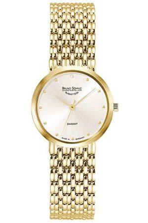 Soehnle Bruno Söhnle dames analoog kwarts horloge met roestvrij stalen armband 17-33169-252