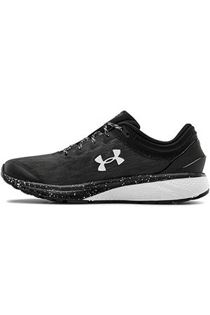 Under Armour Men's Charged Escape 3 Evo Running Shoe, Black White White 001, 9 UK