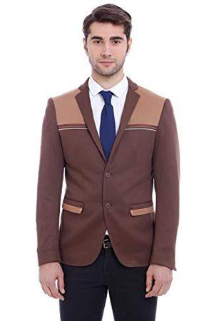 Wessi Blazer Business Suit Jacket, slanke pasvorm voor heren