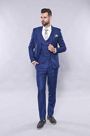 Wessi Kostuum vest slimfit met Schotse blazer Suit-Dress set heren