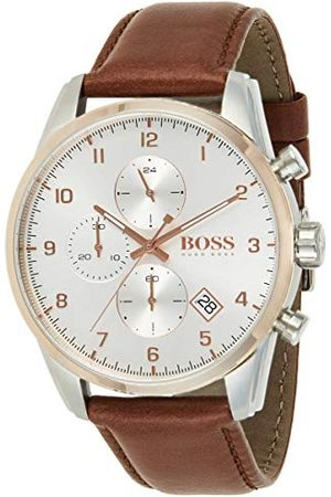 HUGO BOSS Kwartshorloge met lederen armband 1513786