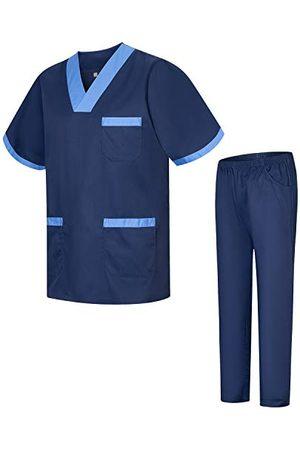 MISEMIYA Sanitair pyjama 8178, uniseks, voor volwassenen - - Small