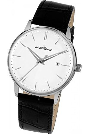 Jacques Lemans Dames analoog kwarts horloge met lederen armband N-216A