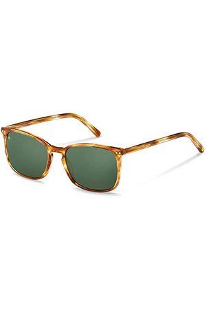 Rodenstock Zonnebril Youngline Sun RR335 (heren), lichtgewicht zonnebril, vierkante zonnebril met acetaat kunststof montuur