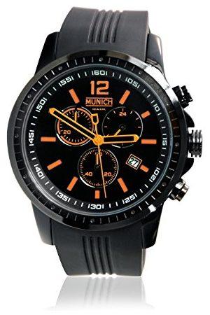 Munich München Unisex Adult Analoog Quartz Horloge met Siliconen Band MU+102.5A