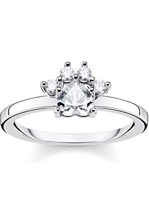 Thomas Sabo Ringen 925_Sterling zilveren zirkonia '- ringmaat 52 TR2289-643-14-52