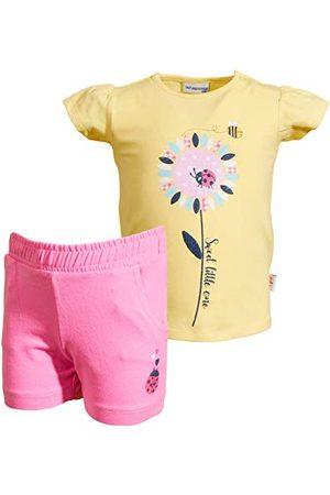 Salt & Pepper Baby-meisjes Lucky Uni foamprint broekset