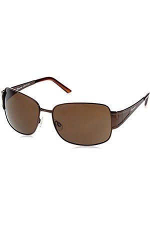 Burgmeister Klassieke merkzonnebril voor heren van met 100% uv-bescherming, zonnebril met stabiele metalen behuizing, hoogwaardig brillenkoker, brillenzakje