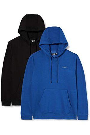 Crosshatch Heren Traymax Hood Sweatshirt