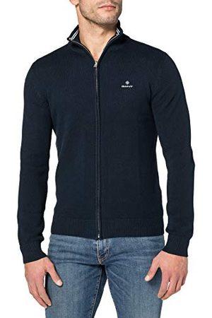 GANT Heren Cotton Pique Zip Cardigan Pullover