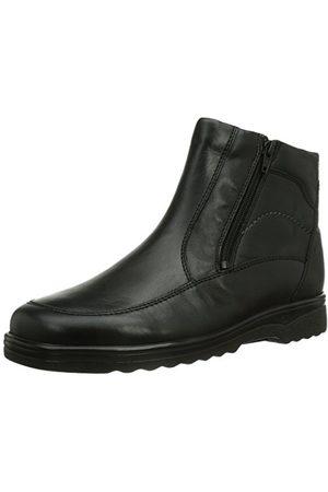 Ganter 4-256287-01000, laarzen en enkellaarzen, warme binnenvoering, klassiek, laag heren 45 EU Weit