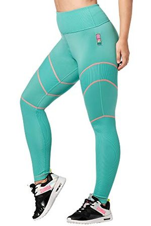 Zumba Fitness Hoge Taille Workout Fitness Compressie Activewear Gym Leggings Vrouwen, Vet , L