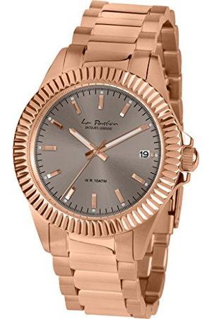 Jacques Lemans Dames analoog kwarts horloge met roestvrij staal gecoate armband LP-125K