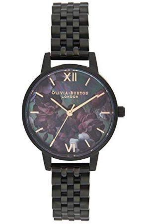 Olivia Burton Dames analoog kwarts horloge met roestvrij stalen armband OB16AD41
