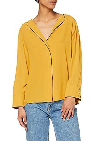 Yargıcı Yargir damesblouse piping gedetailleerd blouse
