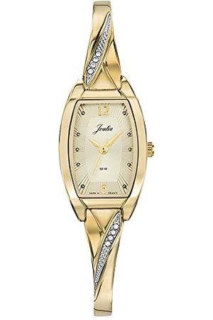 Joalia Dames analoog kwarts horloge met messing armband 630515